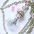 Mermaid bottle pendant