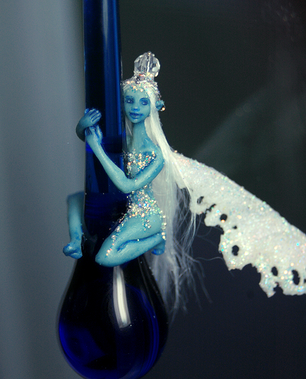Blue fairy ornament avatar